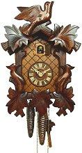 Anton Schneider Cuckoo Clock 5 leaves, 3 birds
