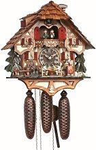 Anton Schneider Cuckoo Clock Black Forest house