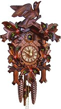 Anton Schneider Cuckoo Clock Five Leaves, Bird