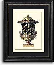 Antonio Clementino Urn II Framed Print & Mount, 60