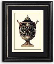 Antonio Clementino Urn IV Framed Print & Mount, 60