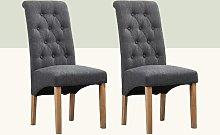 Anya Upholstered Dining Chair Hykkon Upholstery
