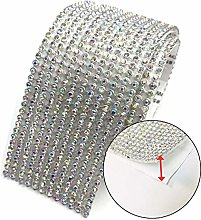 Anyasen Self Adhesive Crystal Rhinestone Stick-on