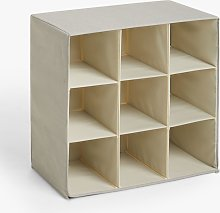 ANYDAY John Lewis & Partners Collapsible Shoe Cubby