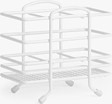 ANYDAY John Lewis & Partners Cutlery Basket, White