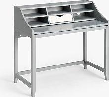 ANYDAY John Lewis & Partners Loft Desk, Grey/White