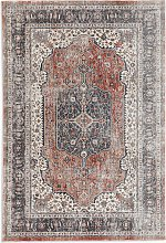 ANYDAY John Lewis & Partners Medallion Rug, Red