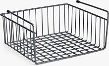 ANYDAY John Lewis & Partners Shelf Basket, Grey