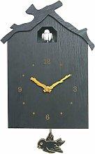 ANYDERTS Wooden Wall Clock, Cuckoo Wall Clock