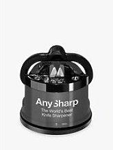 AnySharp Knife Sharpener Pro, Gunmetal Grey
