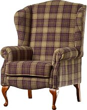 Anzilotti Wingback Chair Three Posts Upholstery