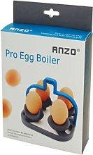 Anzo - Professional 4pc Egg Boiler - Blue