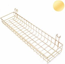 ANZOME Gold Basket For Gridwal/Grid Panel Hanging