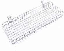 ANZOME Mesh Wire Hook Basket Multifunction Metal