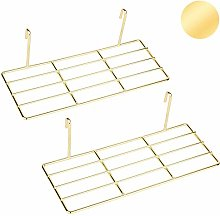 ANZOME Set of 2 Straight Shelf Rack for 'The