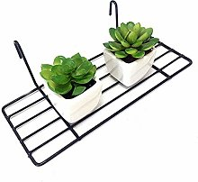 ANZOME Straight Shelf Rack for Gridwall Grid Panel