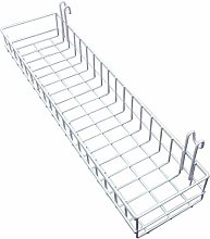 ANZOME Surethingz Wire Wall Basket, Grid Basket