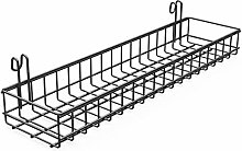 ANZOME Wall Grid Basket, Wire Basket With Hook,