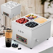 Aocay Commercial Buffet Food Warmer with 4 * 1.7L
