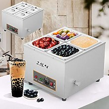 Aocay Commercial Buffet Food Warmer with 4 * 2.5L