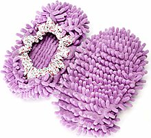 Aofocy Cute Dust Mop Slippers Shoes Floor Cleaner
