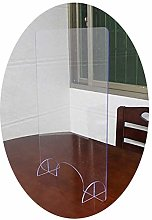 AOGHO HJWMM Sneeze Guard for Counter, Clear