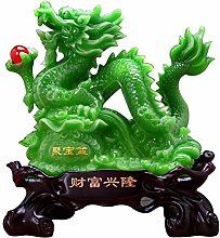 AOHMG Home Decor Dragon Statues, Wealth Lucky