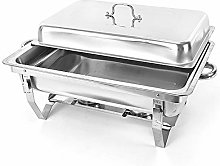 Aohuada 9L Food Warmer Chafing Dish Heat Container
