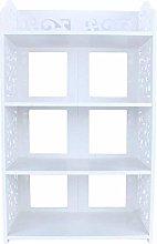 AOIWE Bookcase 4 Levels Shoe Cabinet Shoe Rack