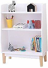 AOIWE Bookcase Bookshelf and Bookcase 3-Tier