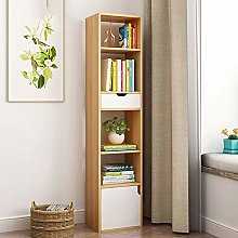AOIWE Bookcase Bookshelf Bookshelf Multiple Open
