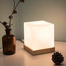 AOIWE Table lamp Wood Retro Pastoral Table lamp