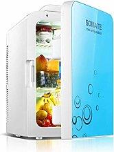 AOLI 20L Dual-Core Car Refrigerator Mini Fridge