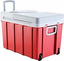 AOLI 40L Cool Box on Wheels Car Refrigerator,12V