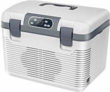 AOLI Car Refrigerator 19L 12V Dc 220V Ac Dual-Core