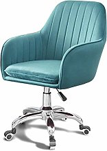 AOLI Desk Chairs, Velvet Office Chair Ergonomic