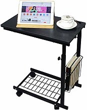 AOLI Overbed Table Laptop Holder Stand Coffee Tray