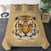 Aolomp 3D Bedclothes 2/3 pcs Tiger animal Pattern