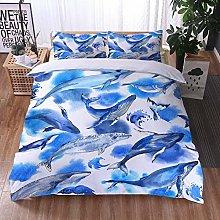 Aolomp 3D Bedding Set Sea animal shark Pattern