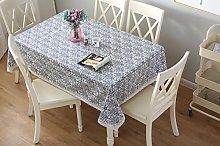 Aonewoe Tablecloth, Cotton Linen Tablecloth