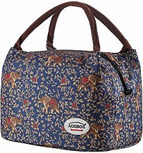 Aosbos Recycled Insulated Lunch Box Tote Cooler
