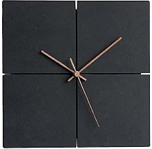 AOUNSC 12 Inch Wall Clock Silent Non-ticking