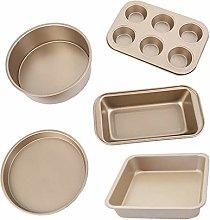 Aoutdoor 5 Piece Non-Stick Bakeware Set,Large Oven