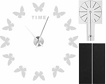 Aoutecen Acrylic Wall Clock, Butterfly Shape