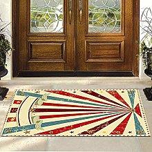 Aoutecen Vintage Style Carpet Floor Mat