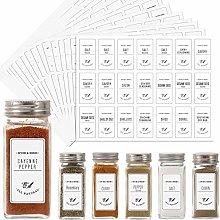 Aozita White 399 Printed Spice Jar Labels