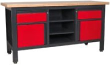 AP1905A Workstation with 2 Drawers, 2 Cupboards &