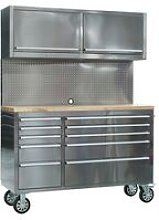AP5520SS Mobile Stainless Steel Tool Cabinet 10
