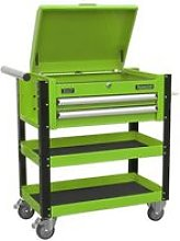 AP760MHV Heavy-Duty Mobile Tool & Parts Trolley 2