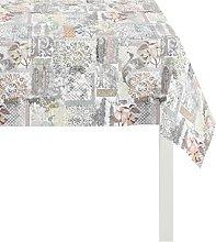 Apelt Tablecloth, Cotton, Beige, 85 x 85 x 0.5 cm